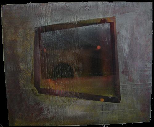 """Logo della galleria """"Finestre su Mondi Paralleli"""""""